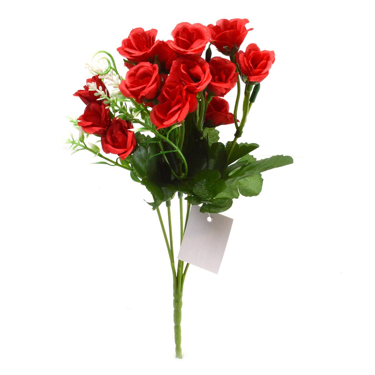 Flori Buchet rose diademe rosu