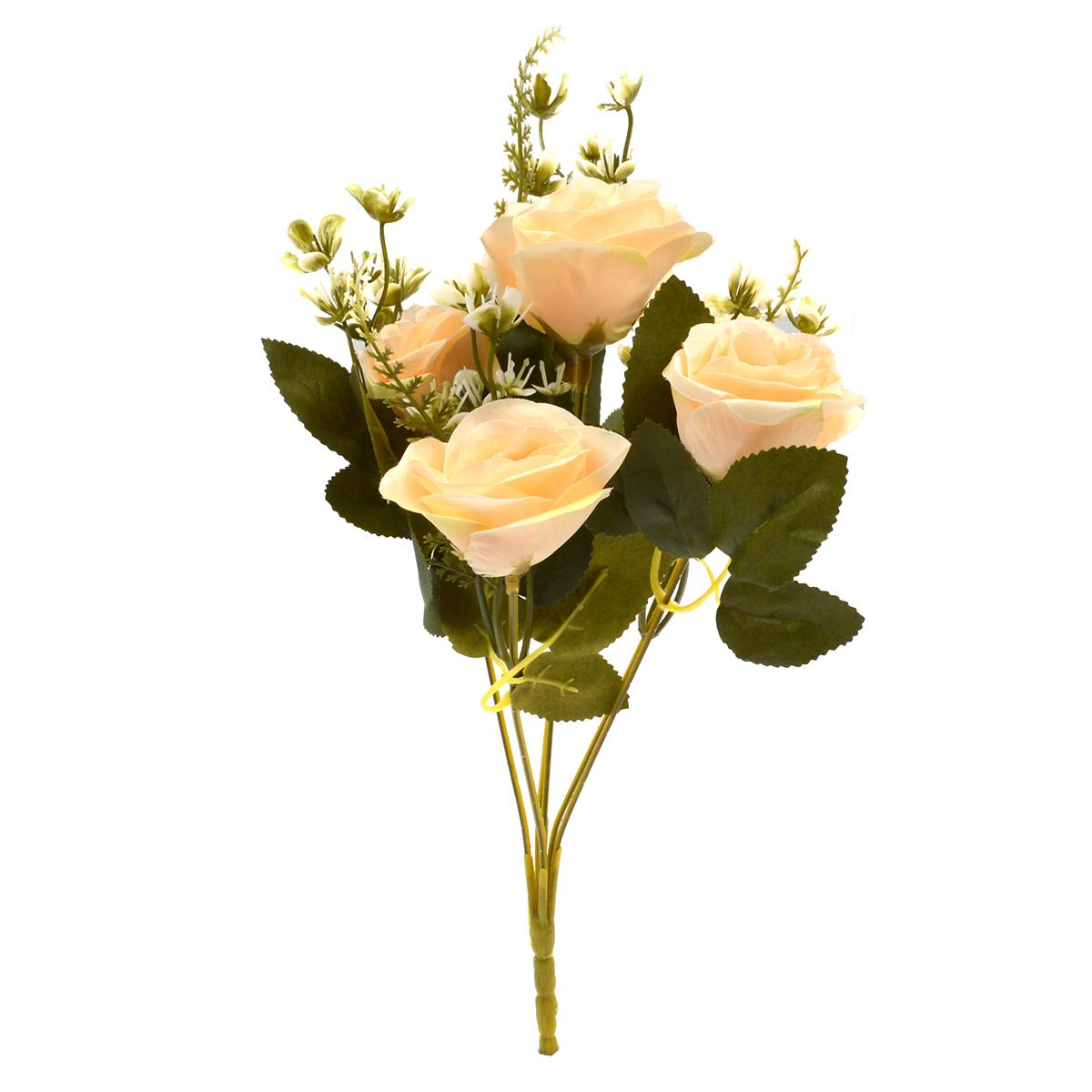 Flori Buchet 6 Trandafiri Madame piersica