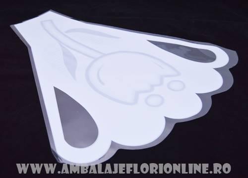 Ambalaj lalea alb