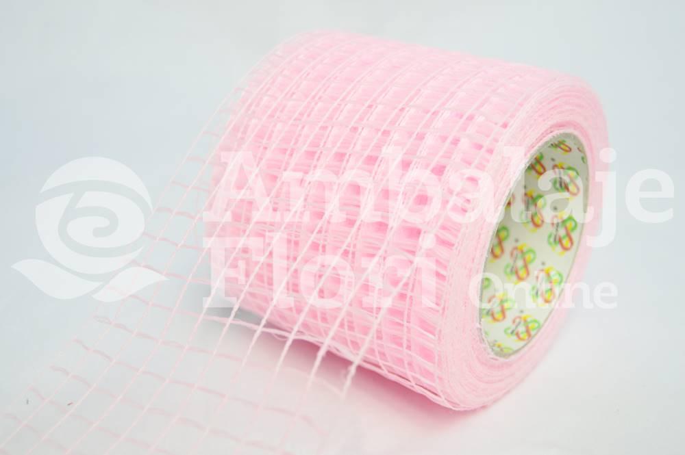 Plasa rola roz pal