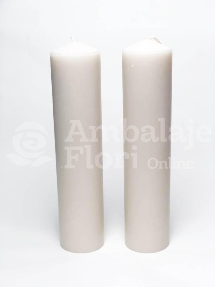 Lumanari Cununie Cilindrice Scurte 30CM / 7CM