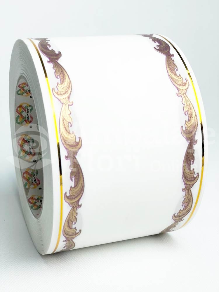 Ambalaje Flori ONLINE vinde Rola Funerara 8cm x 50m Model F2 la pretul de 17.5 lei