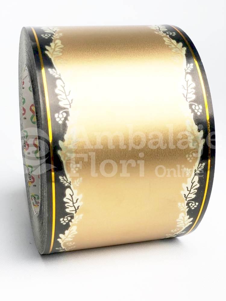 Ambalaje Flori ONLINE vinde Rola Funerara 8cm x 50m Model F4 la pretul de 17.5 lei
