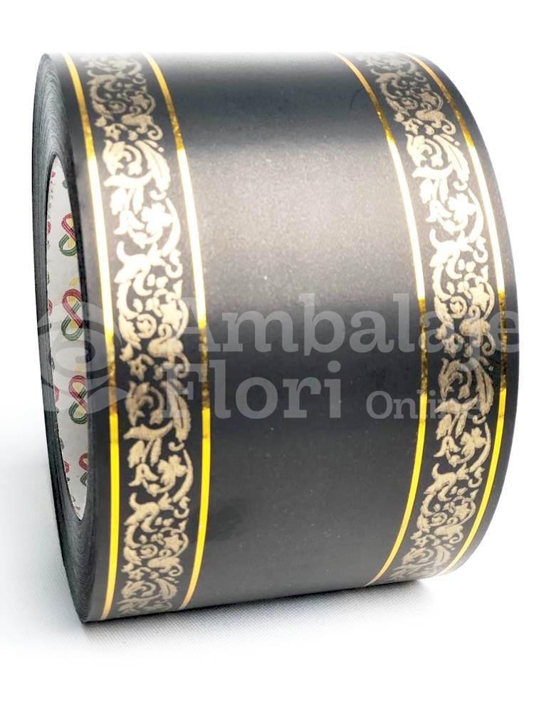 Ambalaje Flori ONLINE vinde Rola Funerara 8cm x 50m Model F5 la pretul de 17.5 lei