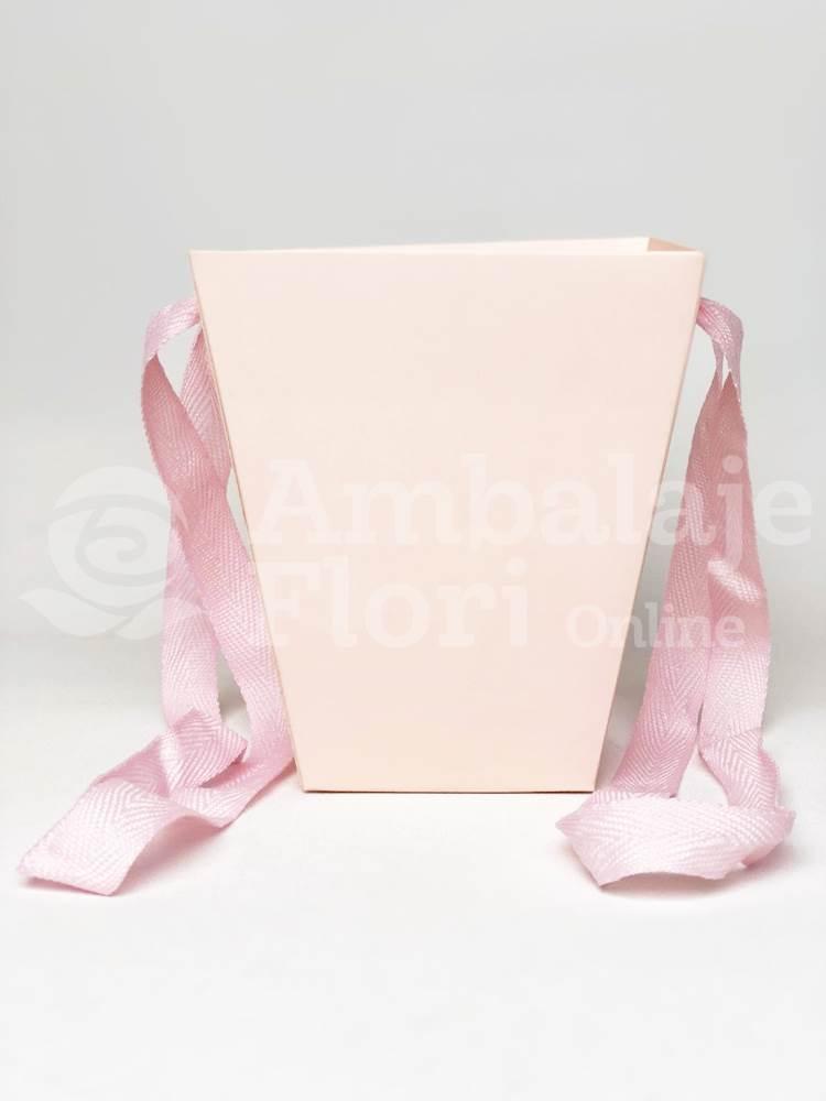 Cutie Carton Tip Sacosa Mica Roz Deschis