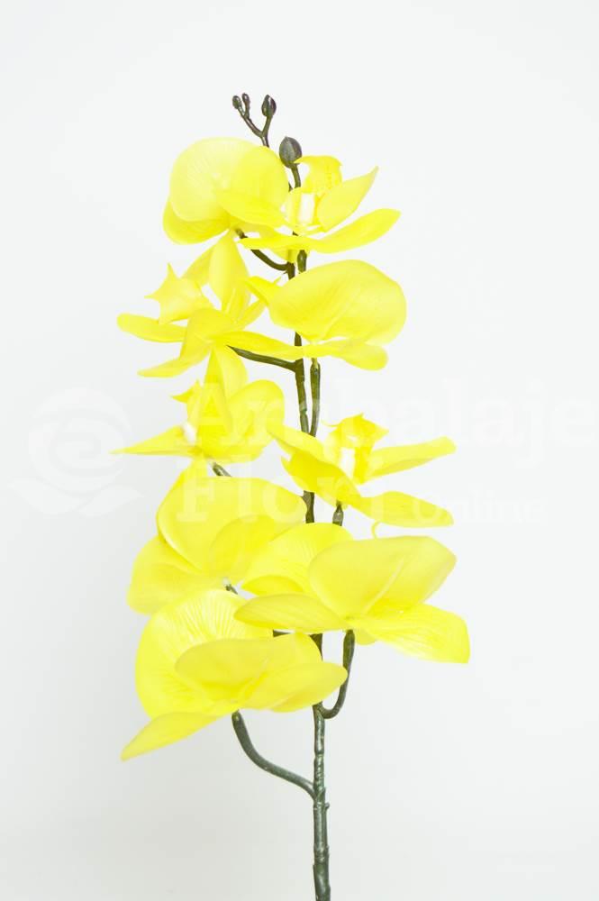 Ambalaje Flori ONLINE vinde Orhidee Fir Realtouch Galben la pretul de 12.9 lei
