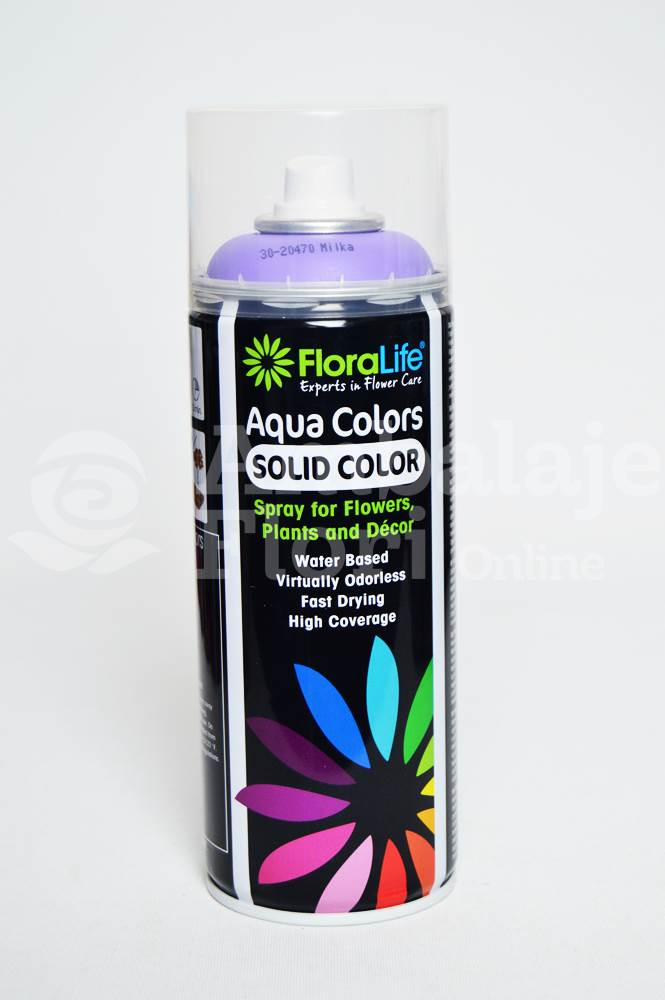 Ambalaje Flori ONLINE vinde Spray Aqua Colors Liliac (Milka) la pretul de 24.99 lei