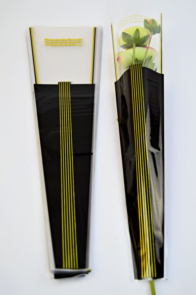 Ambalaj 1 Fir Lines - Negru