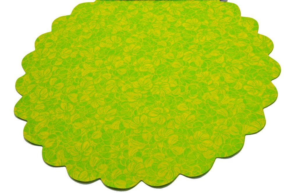 Celofan Model FLW Verde cu Galben