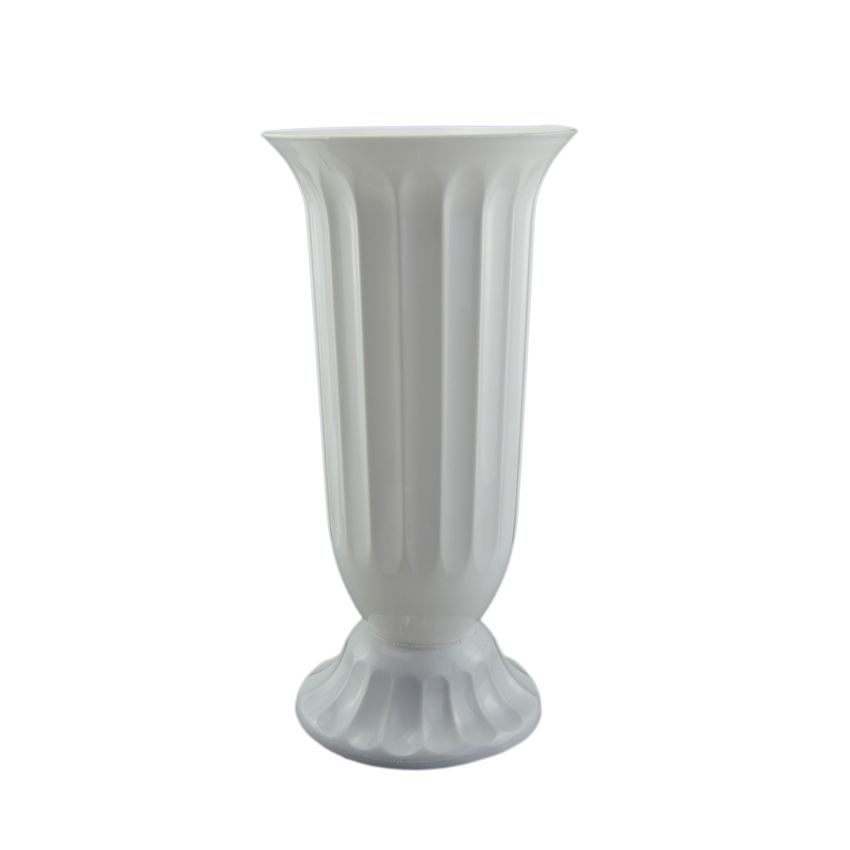 Vaza podea 18x38 cm alb