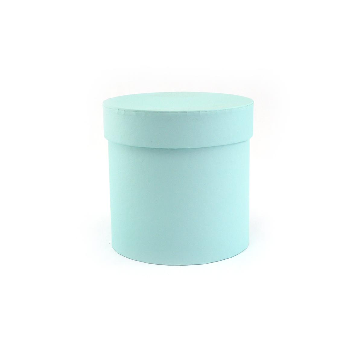 Ambalaje Flori ONLINE vinde Cutie cilindrica fara manere verde mint pastel la pretul de 8.9 lei