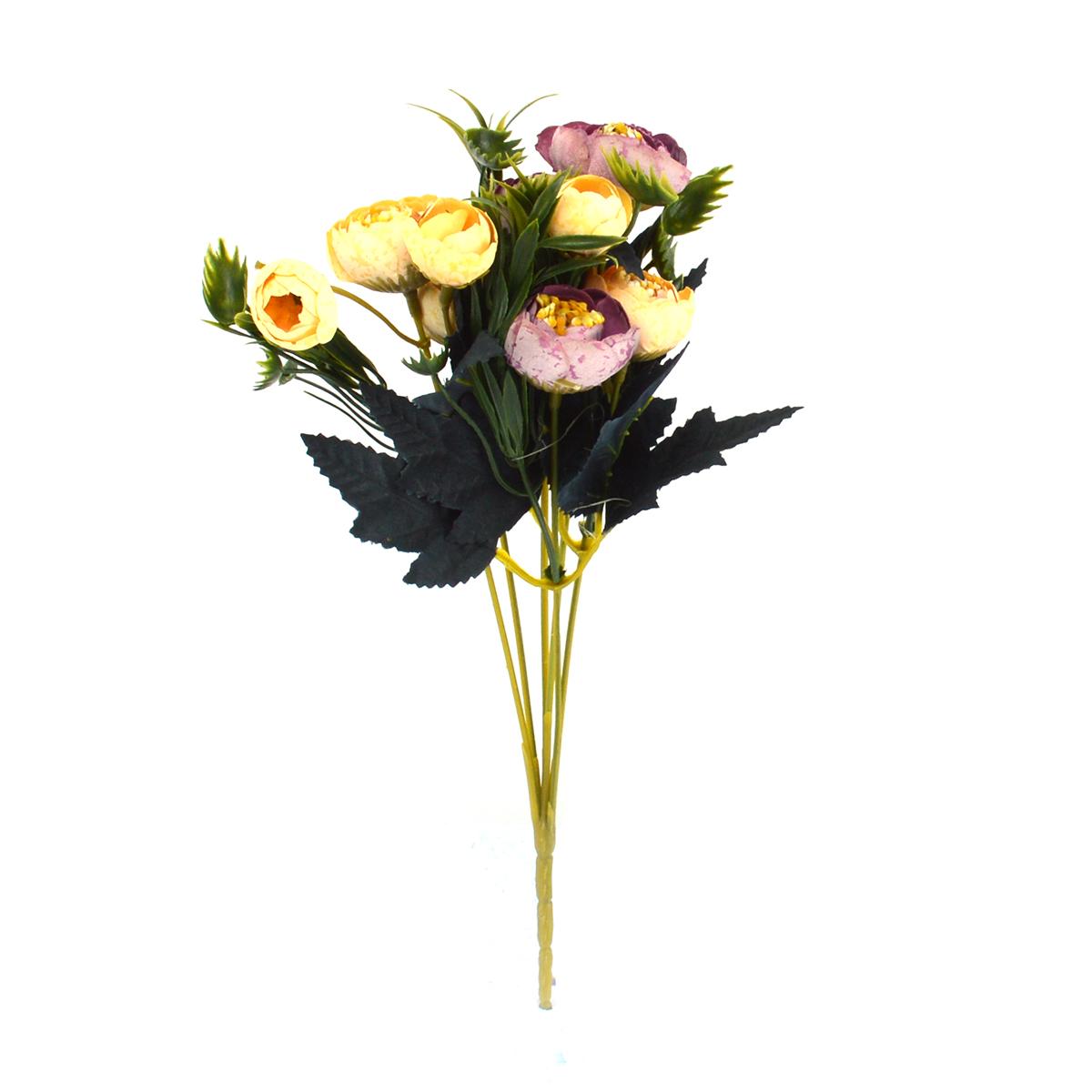 Ambalaje Flori ONLINE vinde Mini Buchet Ranunculus Vintage Frez cu Liliac la pretul de 7.9 lei