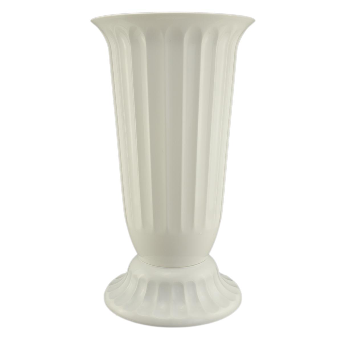 Ambalaje Flori ONLINE vinde Vaza podea 27x50 cm alb la pretul de 24.99 lei
