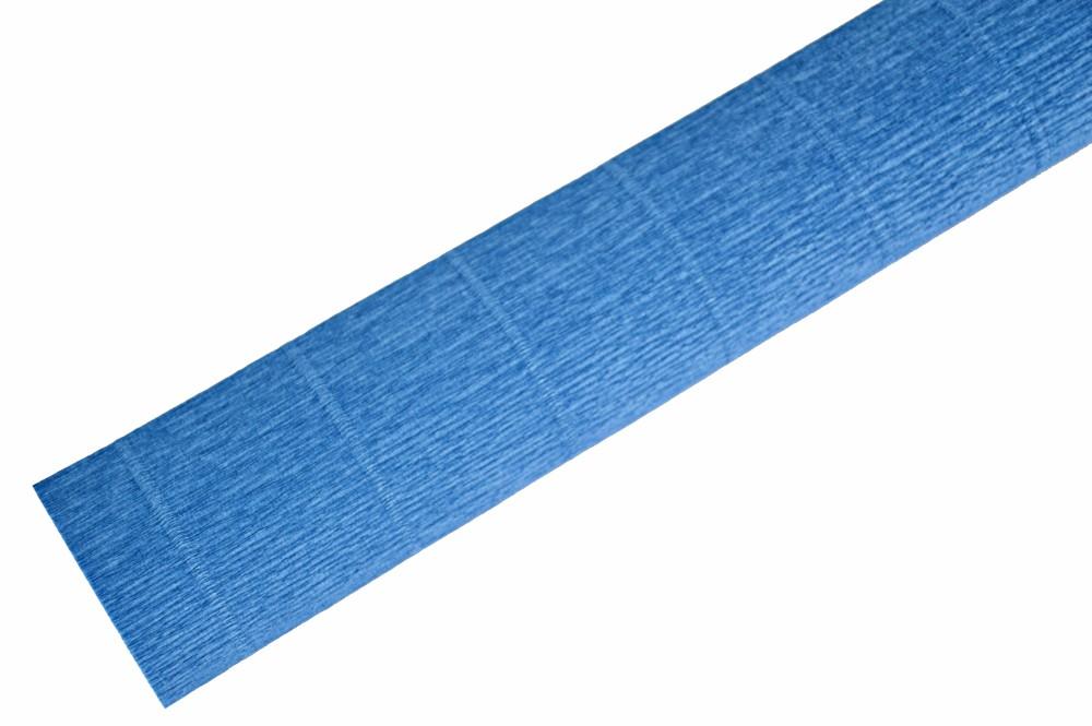 Ambalaje Flori ONLINE vinde Hartie Creponata Floristica - Albastru Portelan Chinezesc - cod 615 la pretul de 5.99 lei
