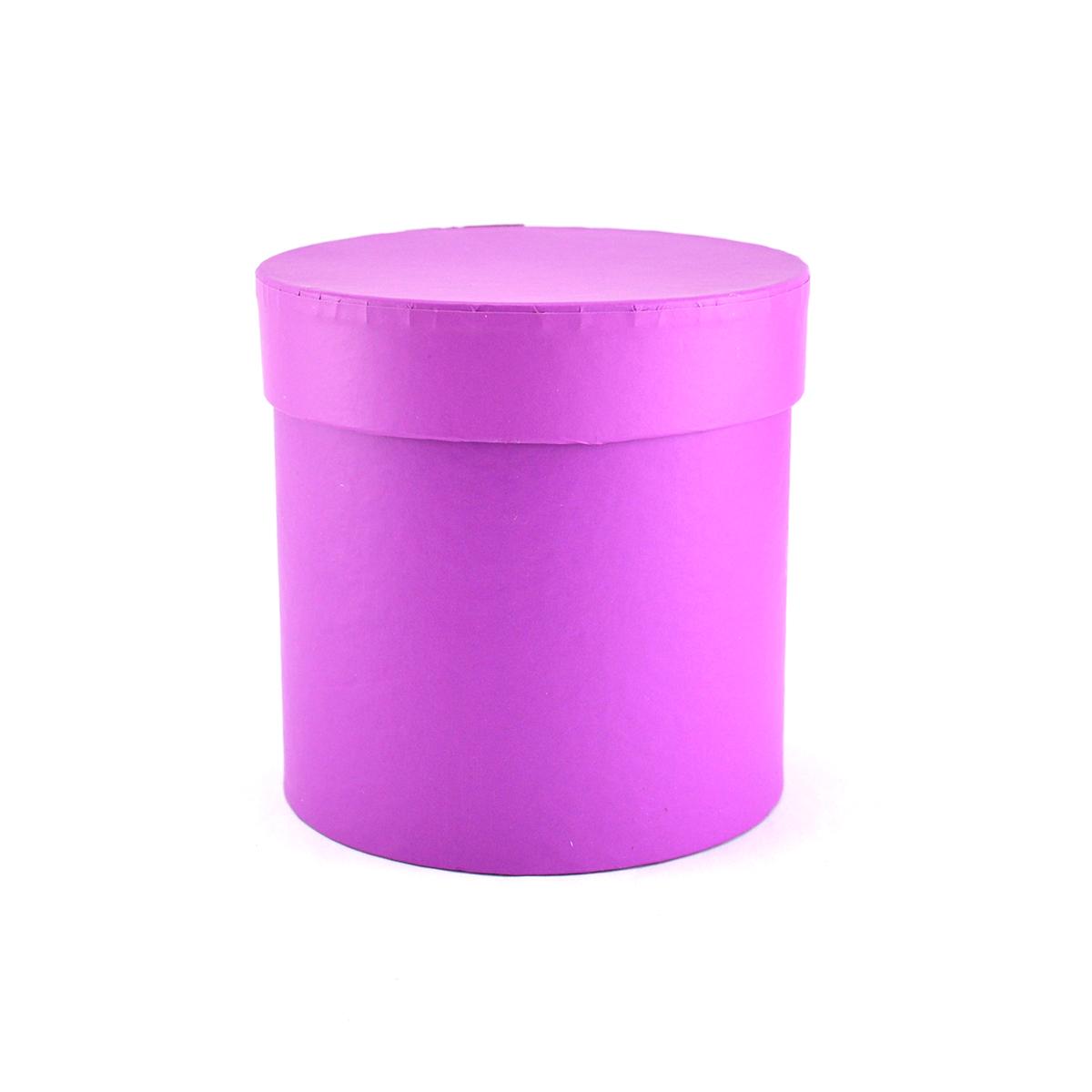 Ambalaje Flori ONLINE vinde Cutie cilindrica fara manere neinscriptionata siclam la pretul de 8.9 lei