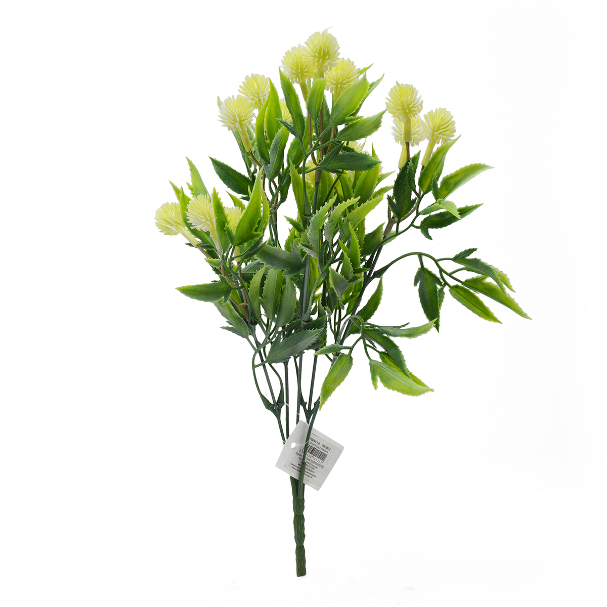 Buchet artificial 5 fire Thistle alb