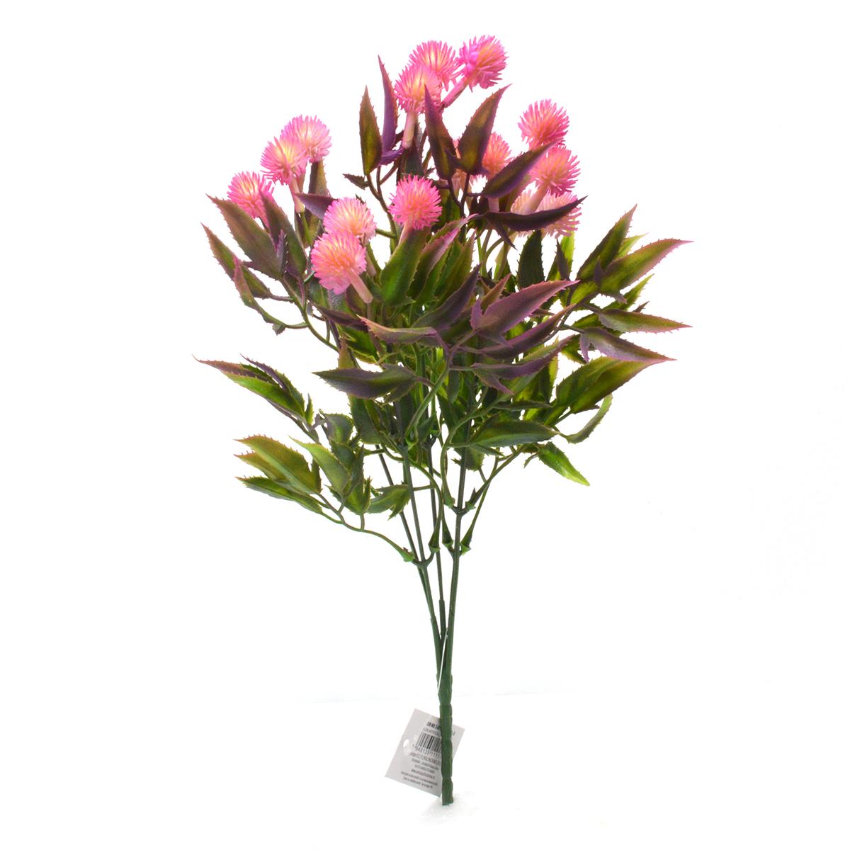 Buchet artificial 5 fire Thistle roz