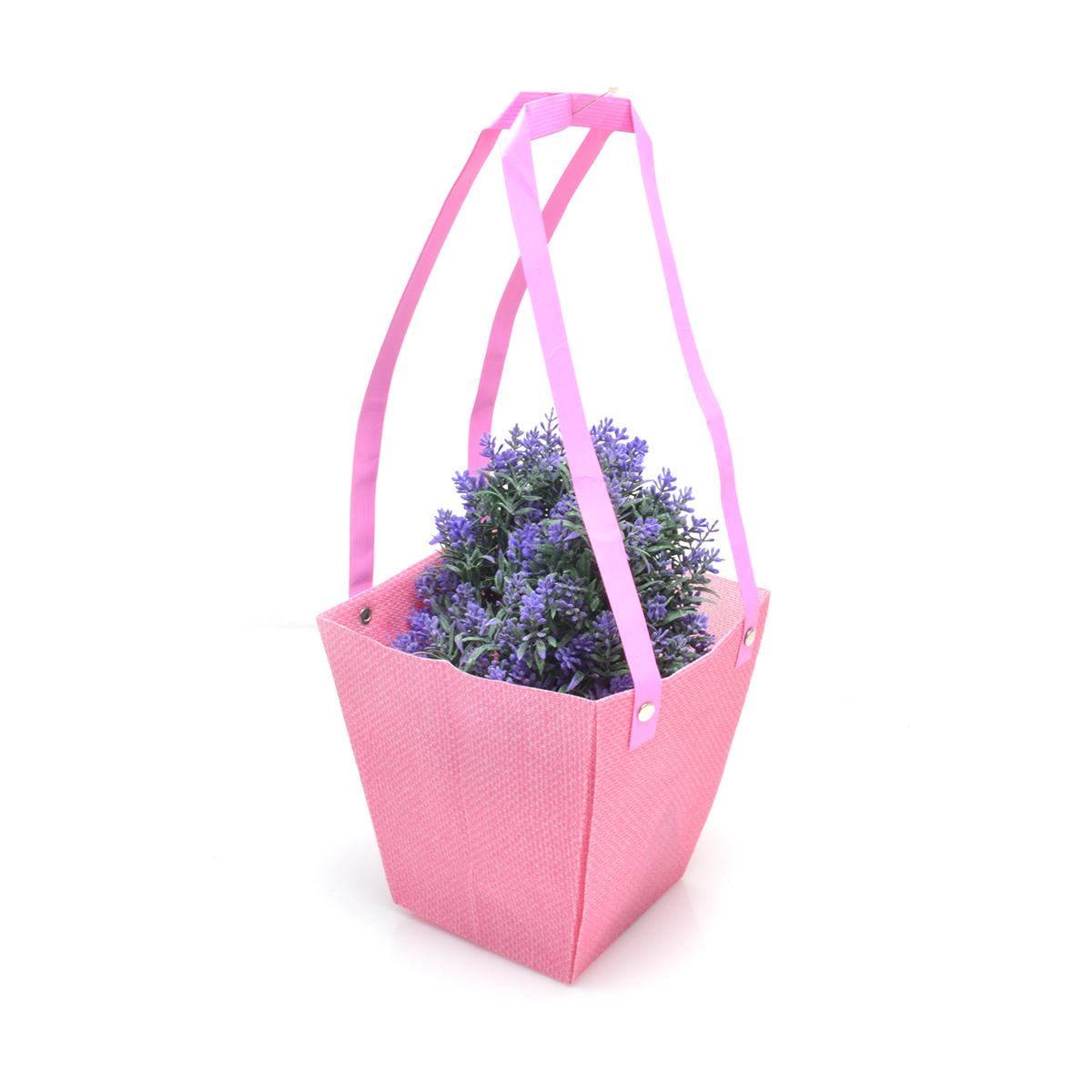 Set 10 buc Sacosa polipropilena roz