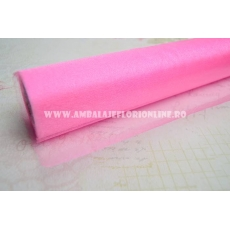 Sul organza roz