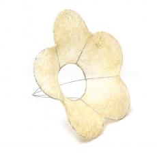 Suport pentru buchet model floare din sizal natur