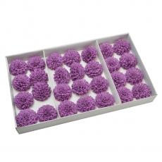 Set 28buc dalie bonesta de sapun parfumata atingere reala liliac