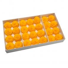 Set 28buc dalie bonesta de sapun parfumata atingere reala orange