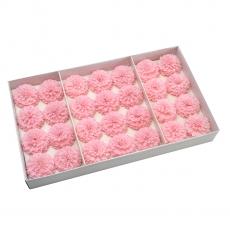 Set 28buc dalie bonesta de sapun parfumata atingere reala roz