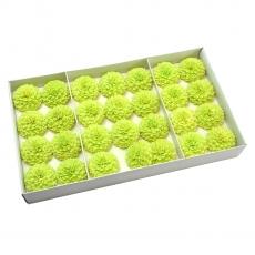 Set 28buc dalie bonesta de sapun parfumata atingere reala verde