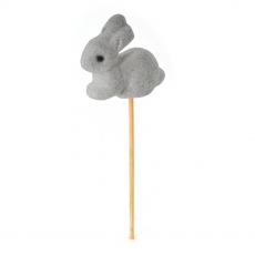 Ornament iepuras pe bat grey bugs bunny 19cm