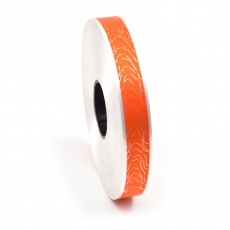 Rola 2CM cu model 32 portocaliu