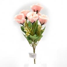 Flori Buchet 6 Trandafiri Madame roz pal