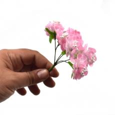 Set 144buc mini crizanteme cu pistil, roz
