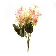 Flori Buchet Gypsophila Repens Rosea alb cu roze