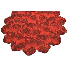 Celofan Rotund 60CM Trandafiri Rosu