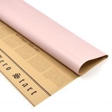 Celofan 2 fete ziar cu roze