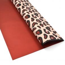 Celofan leopard grena