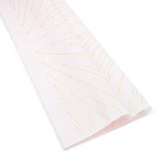 Celofan model lines roz deschis