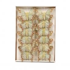 Set fluturi 8cm - 12buc 01216-6