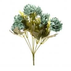 Flori Buchet crizantema autumn tuquoise inchis