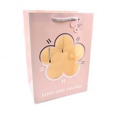 Punga cadou Love and thanks roz