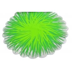 Celofan Rotund Flacari Verde cu Verde deschis