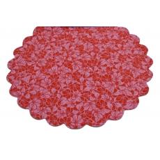 Celofan Model FLW Rosu cu Roz