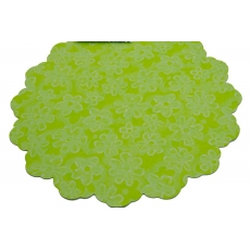 Celofan Rotund 50CM Floricele Verde