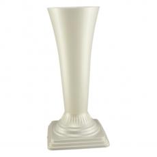 Vaza podea 16x44 cm alb perlat