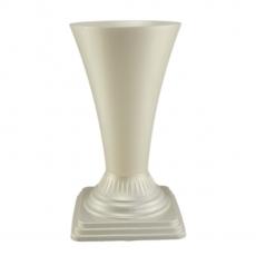 Vaza podea 19x36 cm alb perlat