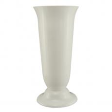 Vaza podea 21x45 cm alb