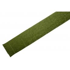 Hartie Creponata Floristica - Verde Masliniu TT - cod 17A8