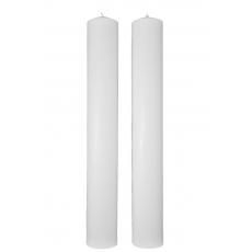 Lumanari Cununie Cilindrice Scurte 40CM / 5.5CM