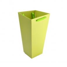 Cutie Carton Tip Sacosa Mare Verde Deschis