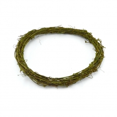 Coronita naturala verde 30cm